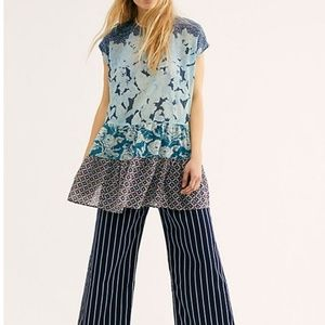 Free People Gotta Have You Top in Blue